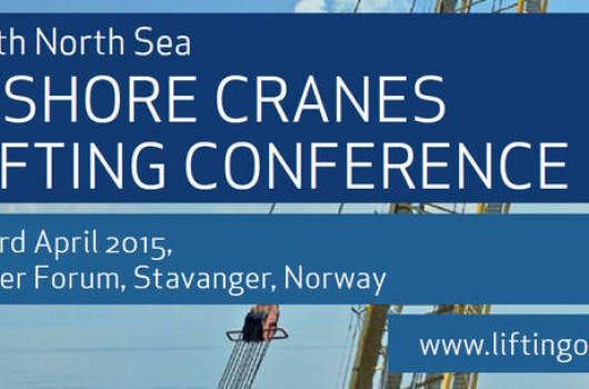 The 20th North Sea Offshore Cranes & Lifting Conference